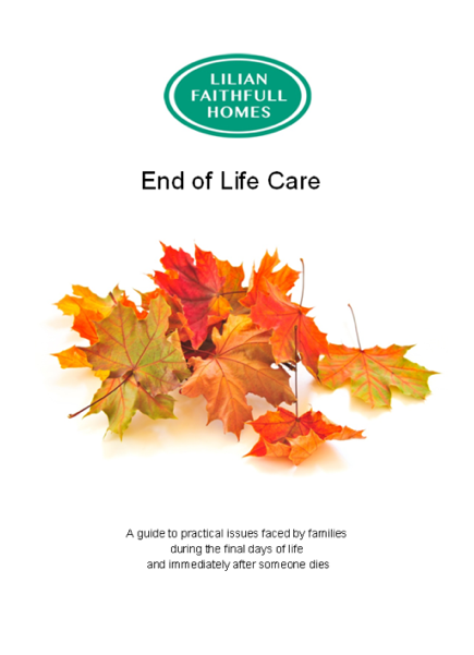 reflection on end of life care Nursing reflective essay on end of life care topic, which affects everyone and should be discussed every person deserves to have some autonomy when it comes to end.