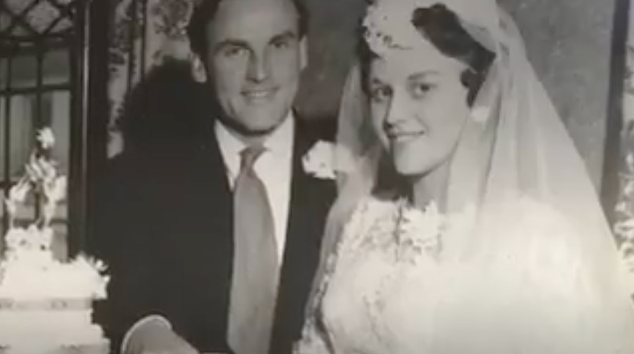 BBC Glos video of Sheila and Peter Ashley's diamond wedding anniversary