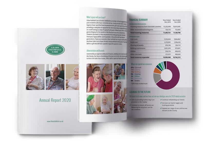 Lilian Faithful Annual Report 2020