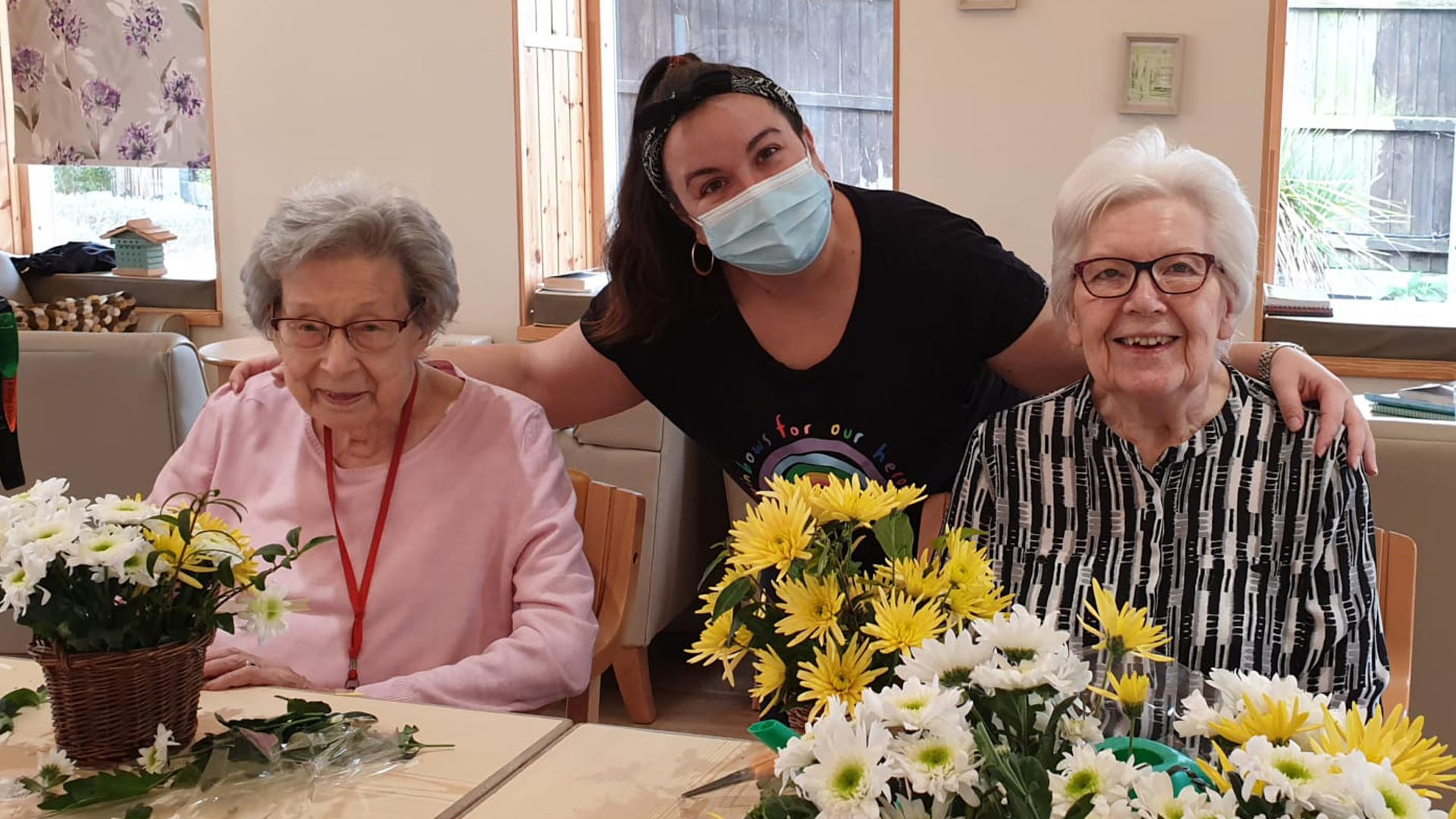safely welcoming new care home residents and day care guests